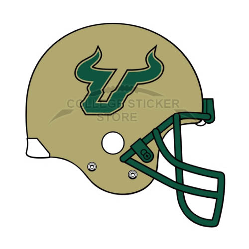 Homemade South Florida Bulls Iron-on Transfers (Wall Stickers)NO.6245
