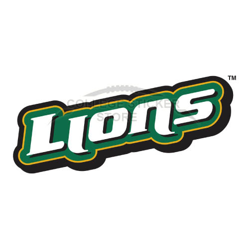 Homemade Southeastern Louisiana Lions Iron-on Transfers (Wall Stickers)NO.6249