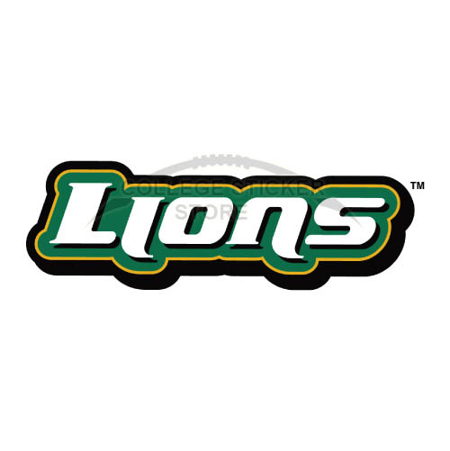 Homemade Southeastern Louisiana Lions Iron-on Transfers (Wall Stickers)NO.6252