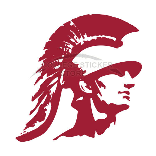 Homemade Southern California Trojans Iron-on Transfers (Wall Stickers)NO.6263