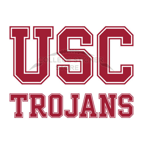 Homemade Southern California Trojans Iron-on Transfers (Wall Stickers)NO.6264