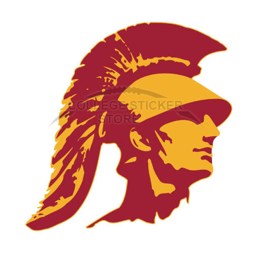 Homemade Southern California Trojans Iron-on Transfers (Wall Stickers)NO.6267