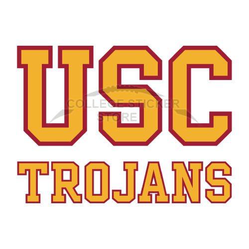 Homemade Southern California Trojans Iron-on Transfers (Wall Stickers)NO.6270