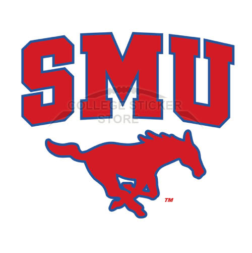 Homemade Southern Methodist Mustangs Iron-on Transfers (Wall Stickers)NO.6287