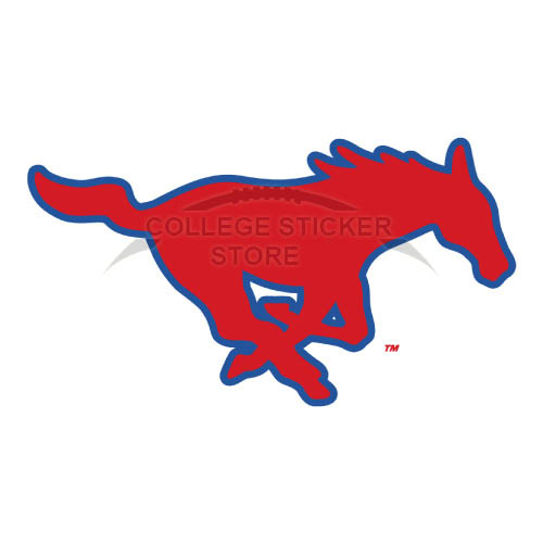 Homemade Southern Methodist Mustangs Iron-on Transfers (Wall Stickers)NO.6291