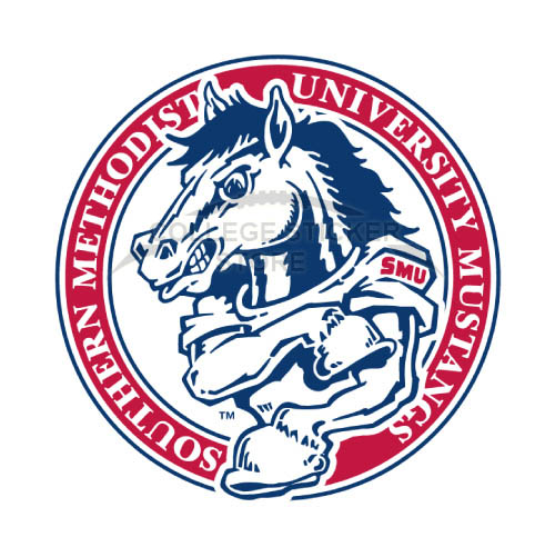 Homemade Southern Methodist Mustangs Iron-on Transfers (Wall Stickers)NO.6292