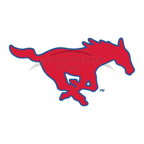 Homemade Southern Methodist Mustangs Iron-on Transfers (Wall Stickers)NO.6293