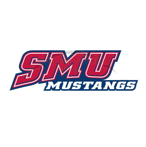 Homemade Southern Methodist Mustangs Iron-on Transfers (Wall Stickers)NO.6294
