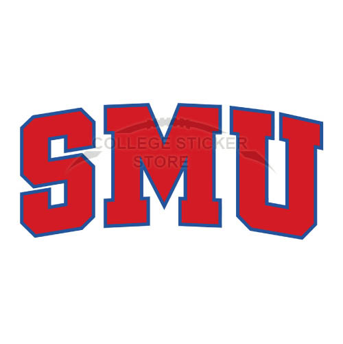 Homemade Southern Methodist Mustangs Iron-on Transfers (Wall Stickers)NO.6296