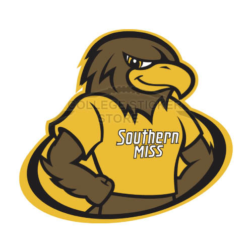 Homemade Southern Miss Golden Eagles Iron-on Transfers (Wall Stickers)NO.6307
