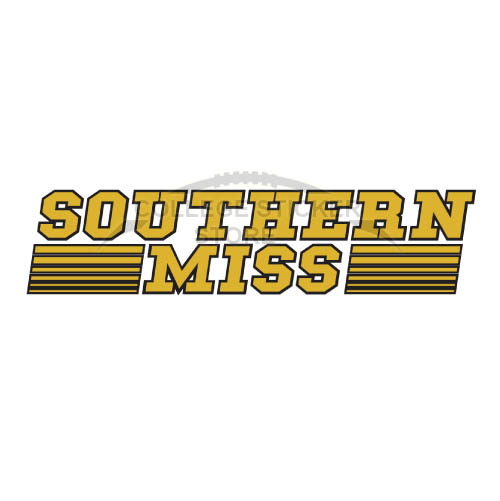 Homemade Southern Miss Golden Eagles Iron-on Transfers (Wall Stickers)NO.6312
