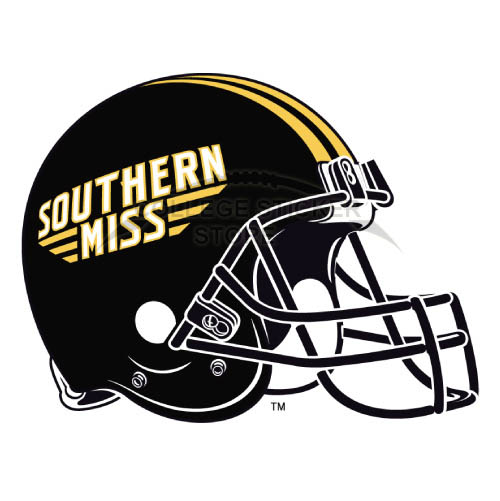 Homemade Southern Miss Golden Eagles Iron-on Transfers (Wall Stickers)NO.6313