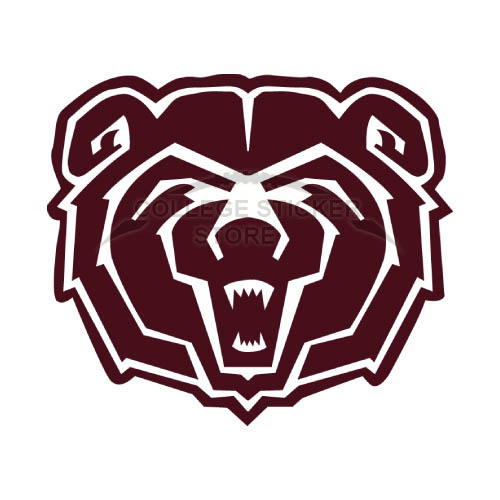 Homemade Southwest Missouri State Bears Iron-on Transfers (Wall Stickers)NO.6317