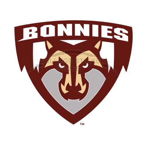 Homemade St. Bonaventure Bonnies Iron-on Transfers (Wall Stickers)NO.6320