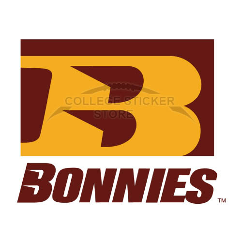 Homemade St. Bonaventure Bonnies Iron-on Transfers (Wall Stickers)NO.6321