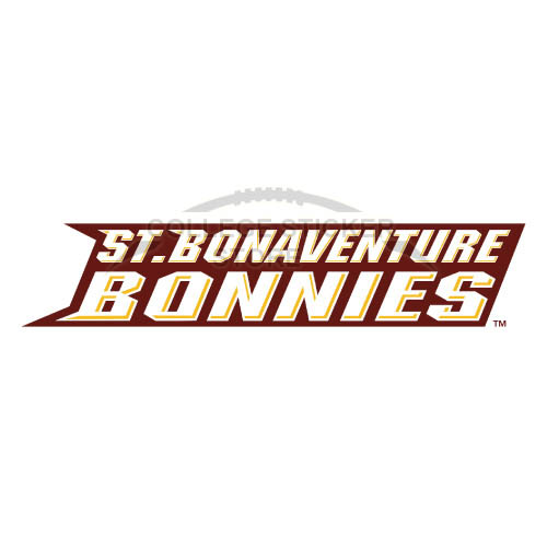Homemade St. Bonaventure Bonnies Iron-on Transfers (Wall Stickers)NO.6322