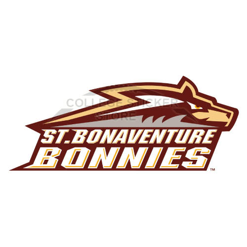 Homemade St. Bonaventure Bonnies Iron-on Transfers (Wall Stickers)NO.6324