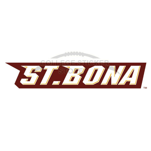 Homemade St. Bonaventure Bonnies Iron-on Transfers (Wall Stickers)NO.6325
