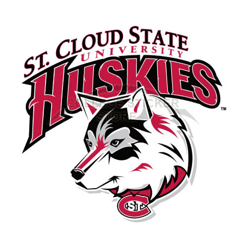 Homemade St. Cloud State Huskies Iron-on Transfers (Wall Stickers)NO.6328