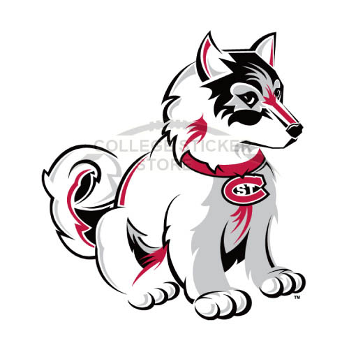 Homemade St. Cloud State Huskies Iron-on Transfers (Wall Stickers)NO.6330