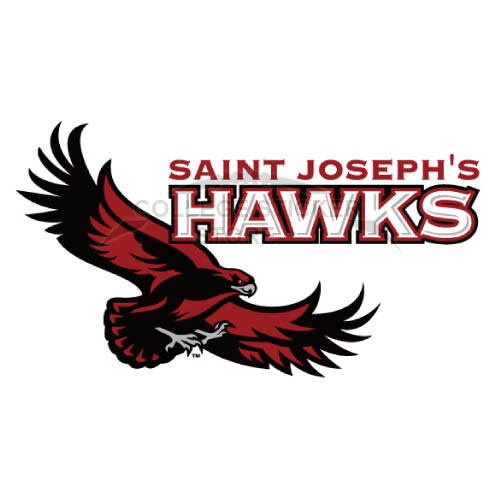 Homemade St. Josephs Hawks Iron-on Transfers (Wall Stickers)NO.6368