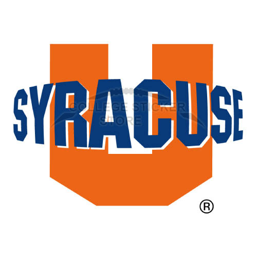 Homemade Syracuse Orange Iron-on Transfers (Wall Stickers)NO.6406