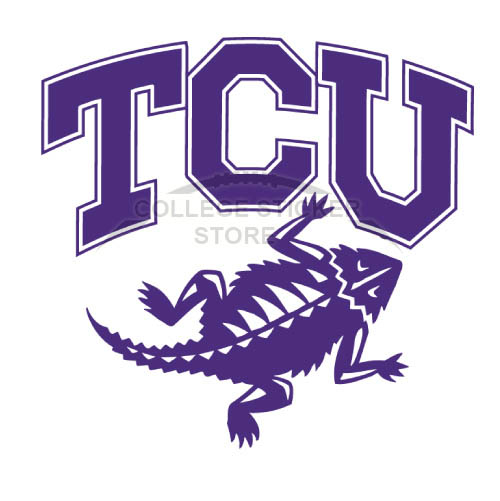 Homemade TCU Horned Frogs Iron-on Transfers (Wall Stickers)NO.6427