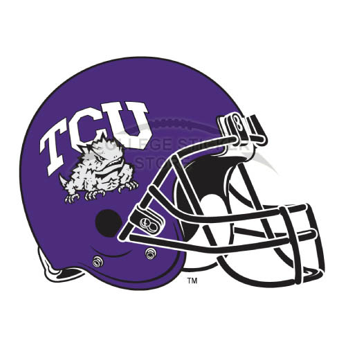 Homemade TCU Horned Frogs Iron-on Transfers (Wall Stickers)NO.6437