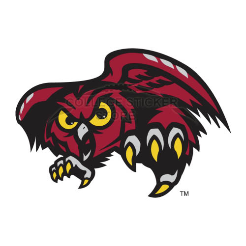 Homemade Temple Owls Iron-on Transfers (Wall Stickers)NO.6441