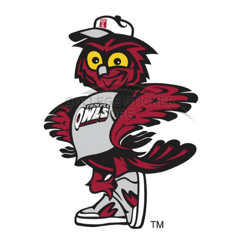 Homemade Temple Owls Iron-on Transfers (Wall Stickers)NO.6443