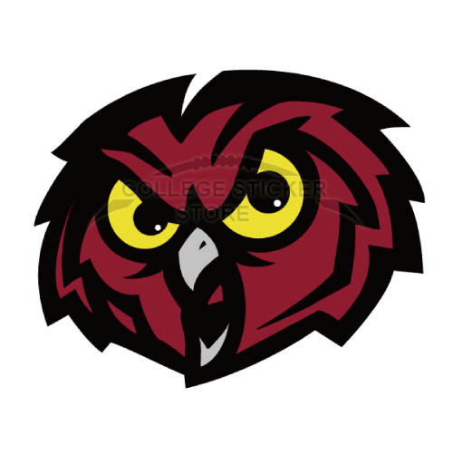 Homemade Temple Owls Iron-on Transfers (Wall Stickers)NO.6444
