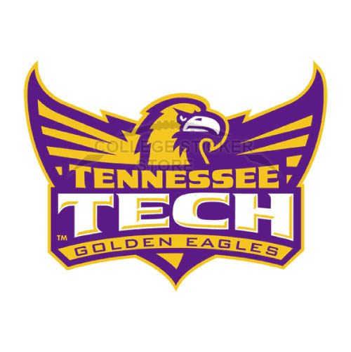 Homemade Tennessee Tech Golden Eagles Iron-on Transfers (Wall Stickers)NO.6458