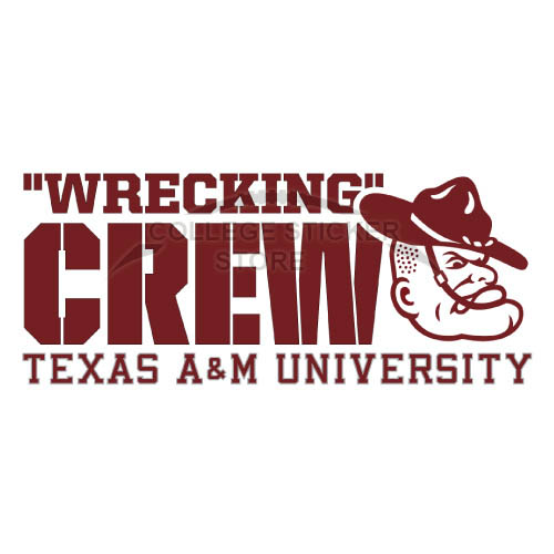 Homemade Texas A M Aggies Iron-on Transfers (Wall Stickers)NO.6484