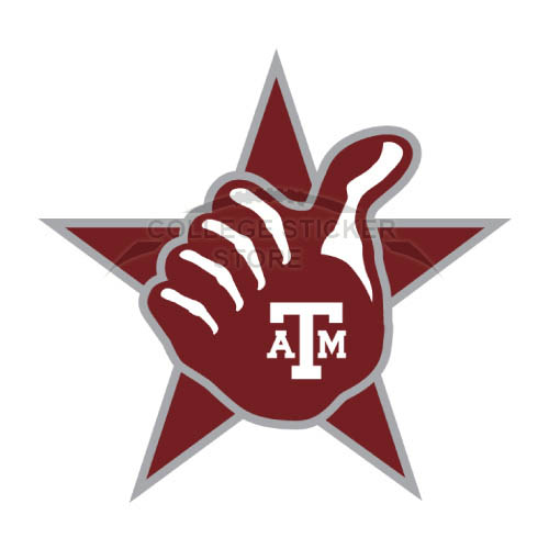 Homemade Texas A M Aggies Iron-on Transfers (Wall Stickers)NO.6486