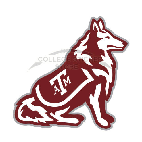 Homemade Texas A M Aggies Iron-on Transfers (Wall Stickers)NO.6489