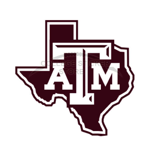 Homemade Texas A M Aggies Iron-on Transfers (Wall Stickers)NO.6490