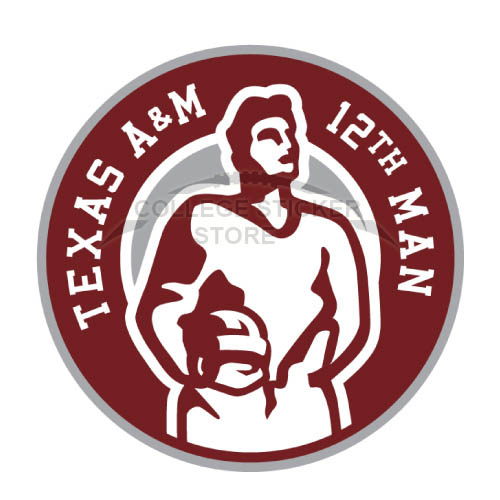 Homemade Texas A M Aggies Iron-on Transfers (Wall Stickers)NO.6491