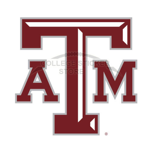 Homemade Texas A M Aggies Iron-on Transfers (Wall Stickers)NO.6495