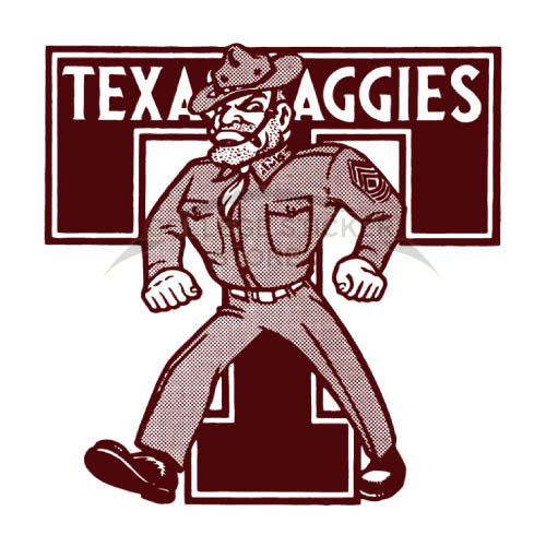 Homemade Texas A M Aggies Iron-on Transfers (Wall Stickers)NO.6496