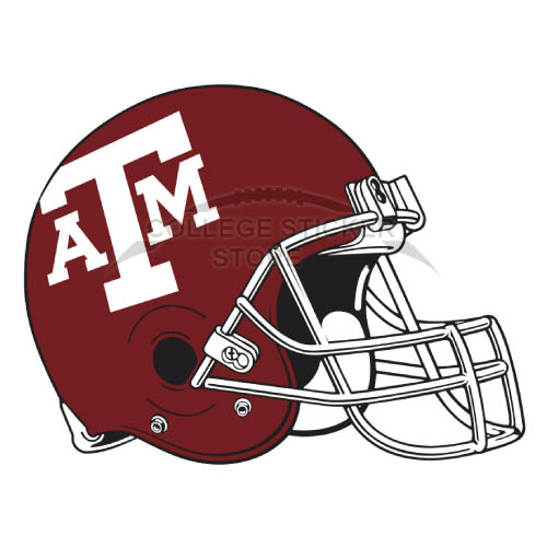 Homemade Texas A M Aggies Iron-on Transfers (Wall Stickers)NO.6497