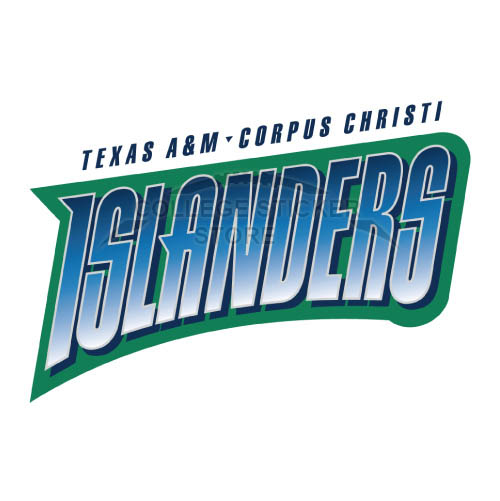 Homemade Texas A M CC Islanders Iron-on Transfers (Wall Stickers)NO.6500