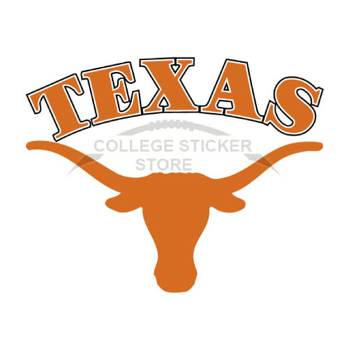 Homemade Texas Longhorns Iron-on Transfers (Wall Stickers)NO.6515