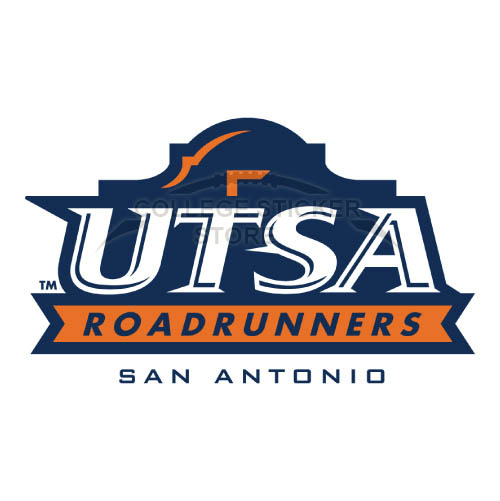 Diy Texas SA Roadrunners Iron-on Transfers (Wall Stickers)NO.6529