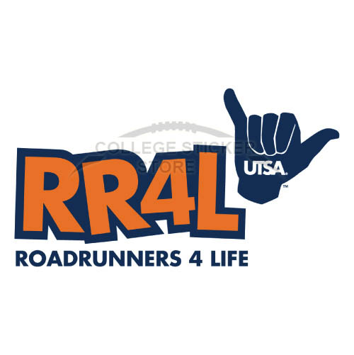 Diy Texas SA Roadrunners Iron-on Transfers (Wall Stickers)NO.6531