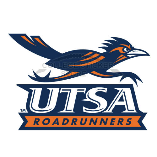 Diy Texas SA Roadrunners Iron-on Transfers (Wall Stickers)NO.6534