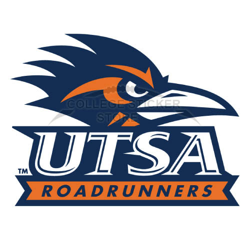 Diy Texas SA Roadrunners Iron-on Transfers (Wall Stickers)NO.6546