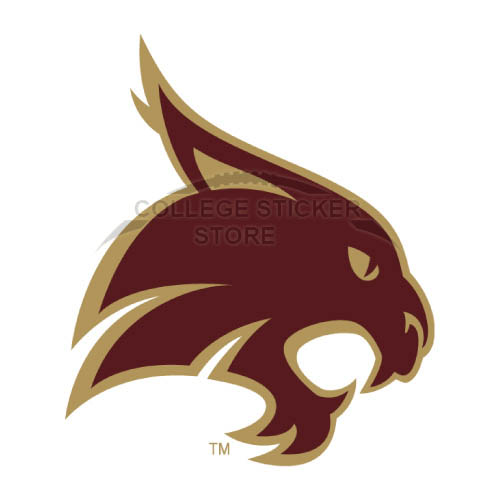 Diy Texas State Bobcats Iron-on Transfers (Wall Stickers)NO.6549