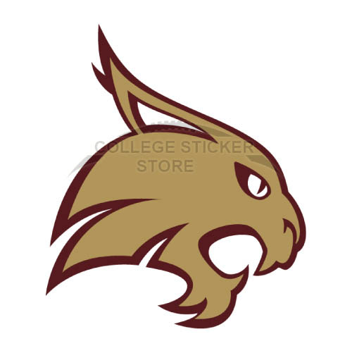 Diy Texas State Bobcats Iron-on Transfers (Wall Stickers)NO.6552