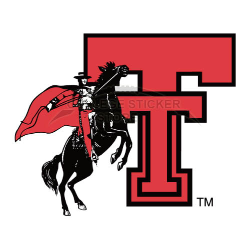 Diy Texas Tech Red Raiders Iron-on Transfers (Wall Stickers)NO.6556
