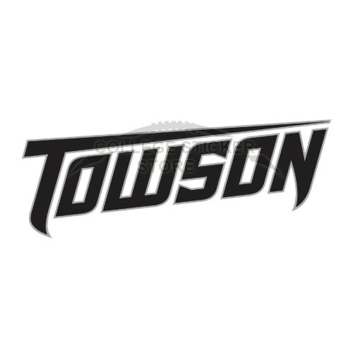 Diy Towson Tigers Iron-on Transfers (Wall Stickers)NO.6579